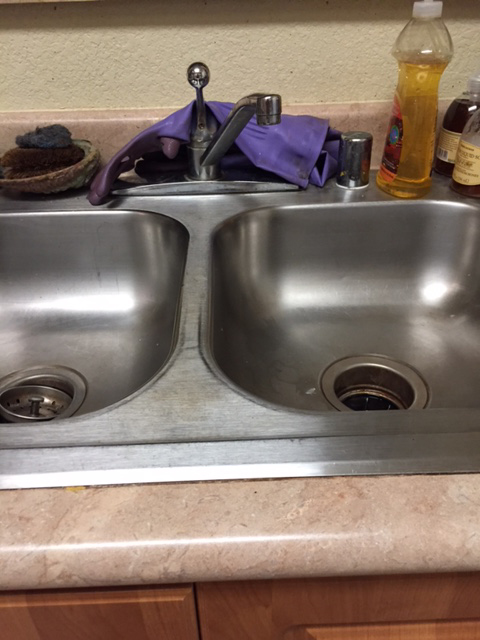 Shiny sink
