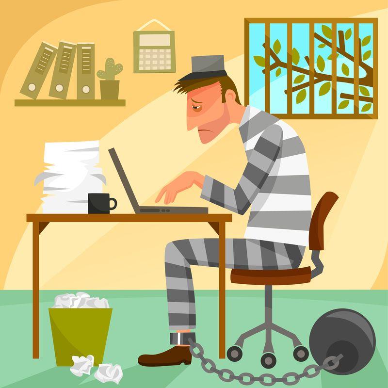 Prisoner of work